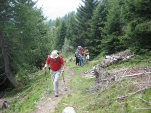 Wandern in Piller